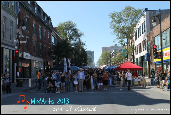 mix arts 2013 montreal