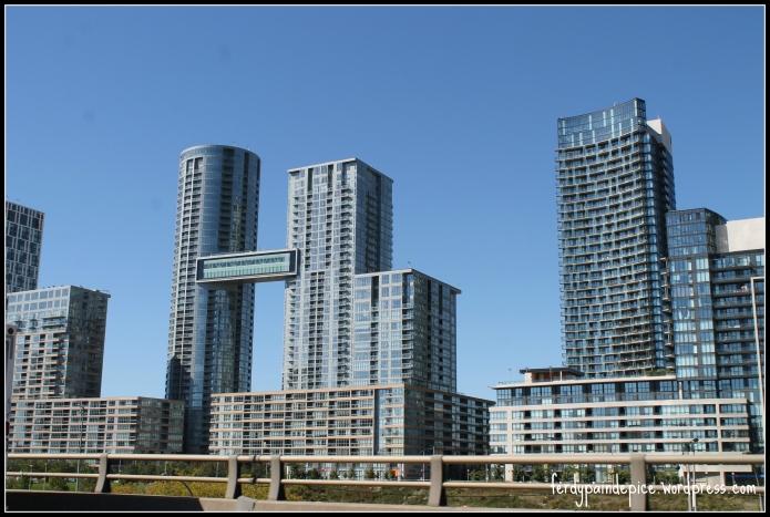 Logement très moderne comparé à Montreal !