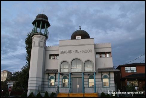 Une des mosquées de Toronto