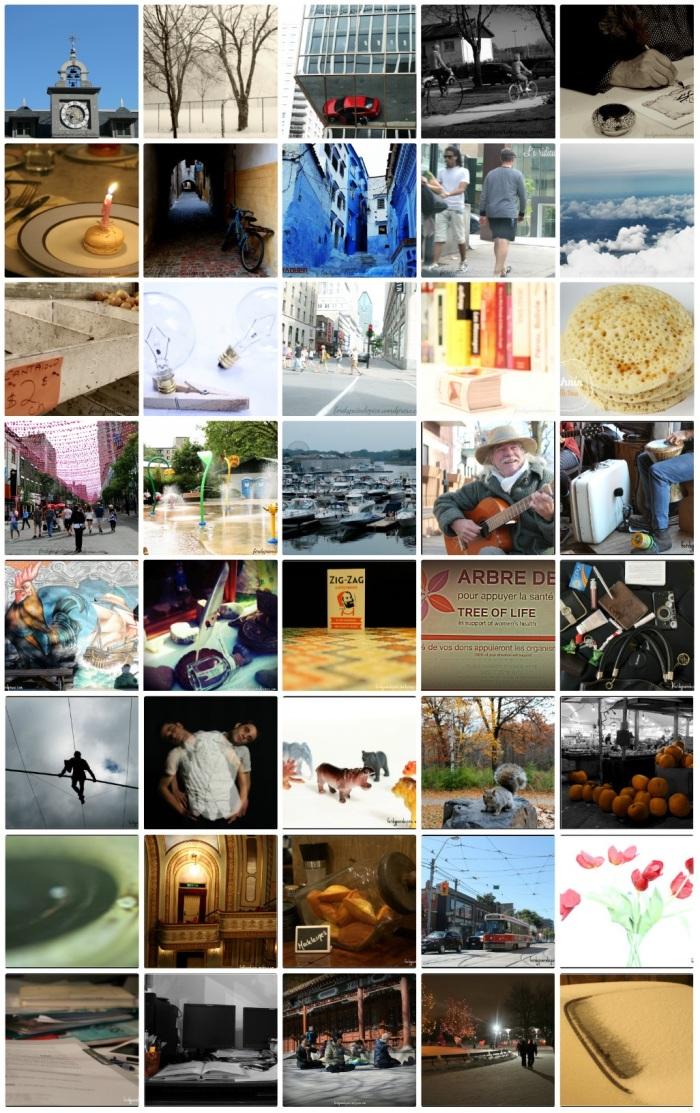 projet 52 semaine 52 Mosaique