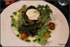 Mille Feuilles De Mozzarella & Aubergines Grillées