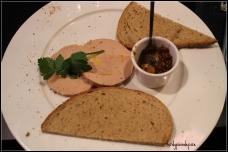 Foie Gras de canard chutney de figues
