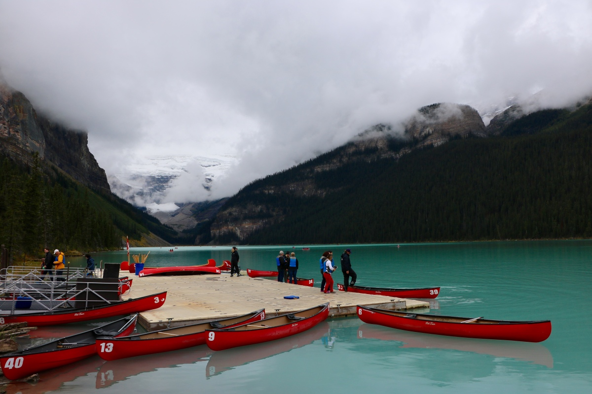 Un weekend à Banff #2 : Le lac Louise
