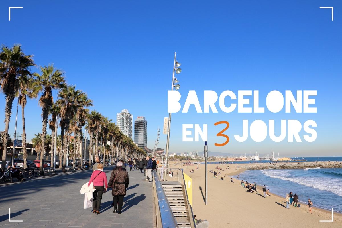 {Escapade en Espagne} Barcelone en 3 jours