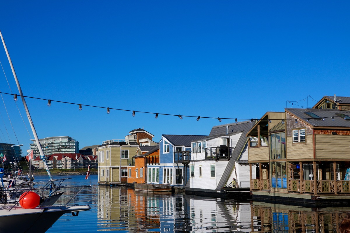 Fisherman's Wharf : Le Village de Maisons Flottantes trop Cute !