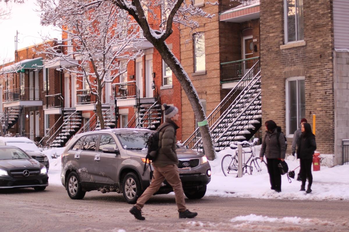 Montréal en Images: Scènes Banales de Tous les Jours
