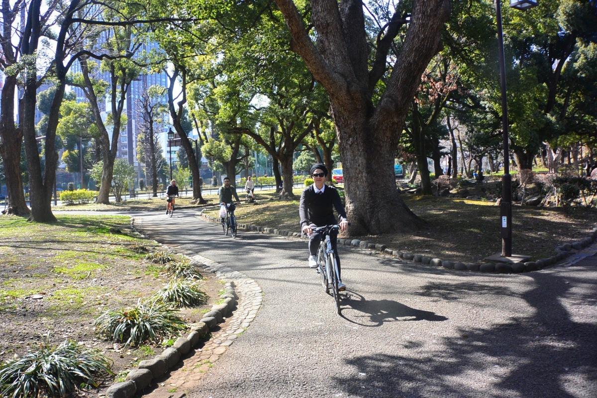 Tokyo à Vélo C'est Quelque Chose !