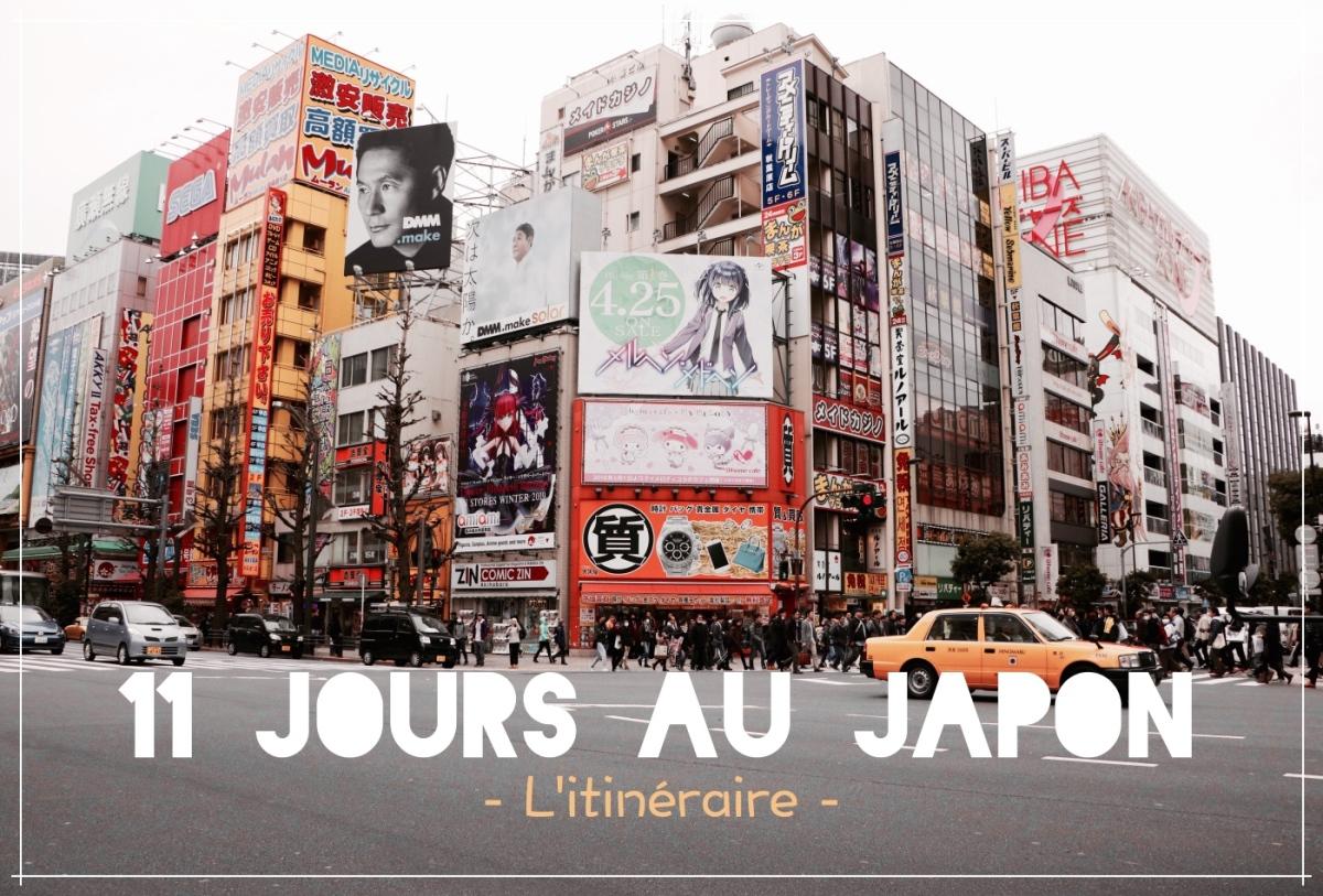 11 jours au Japon | L'itinéraire Complet !